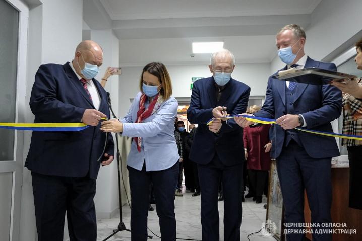 Лабораторія, денний стаціонар, кабінет електрокардіографії: у Лужанах відкрили сучасну амбулаторію