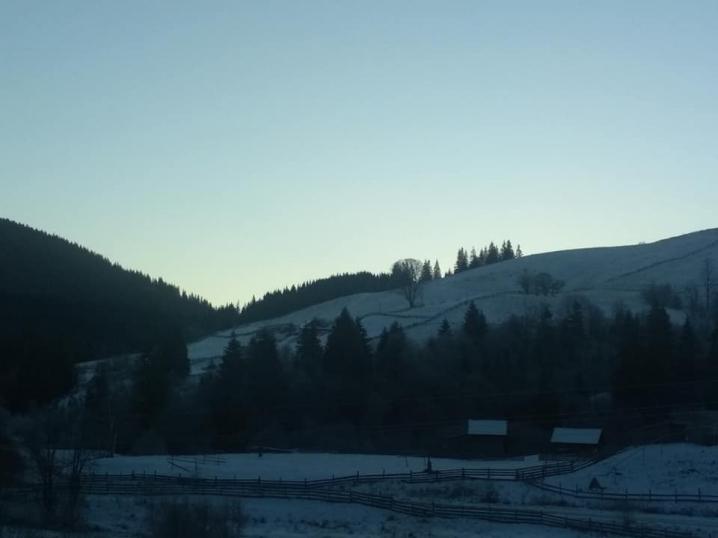 -15 градусів морозу: у Чернівецькій області випав сніг