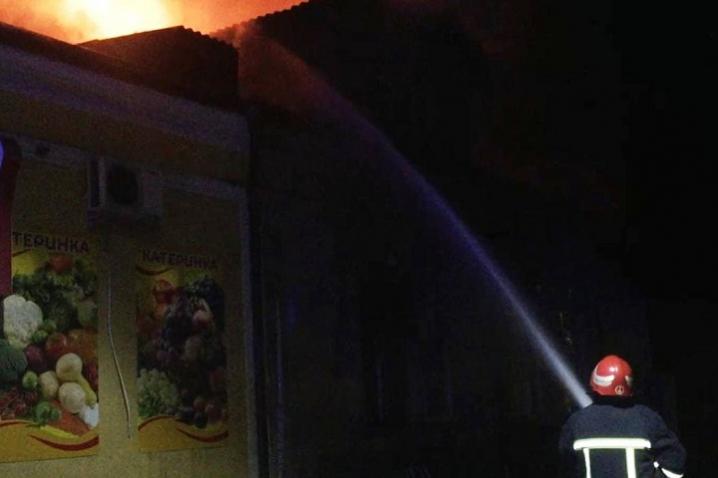 У Чернівцях у пожежі ледь не загинув безхатько