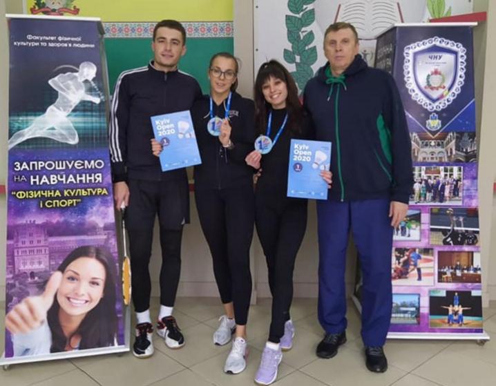 4 бадмінтоністи із Буковини здобули перемогу на міжнародному турнірі