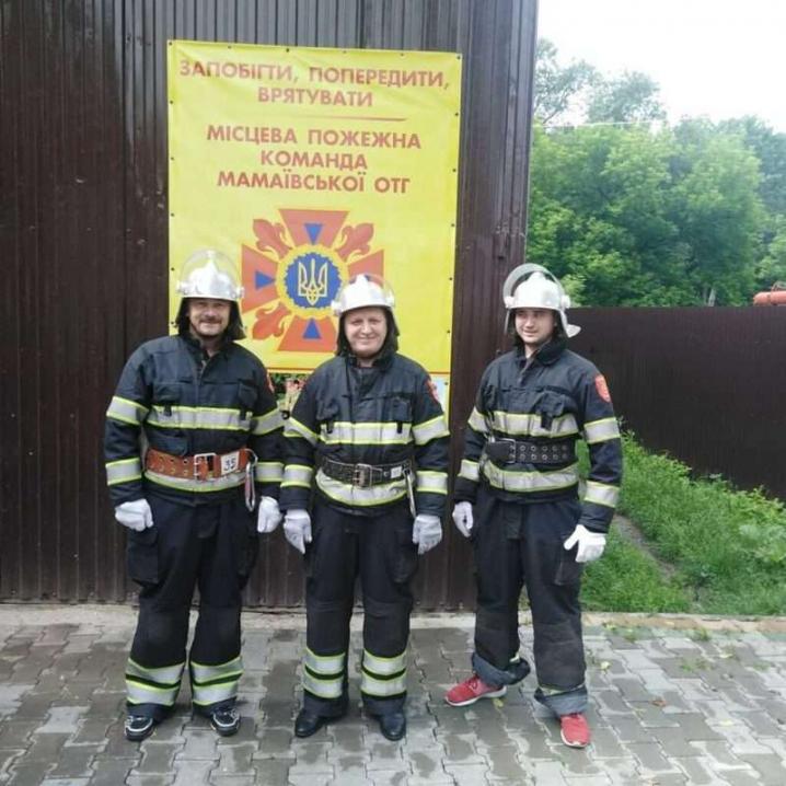 У Мамаївській громаді створили добровільну пожежну команду