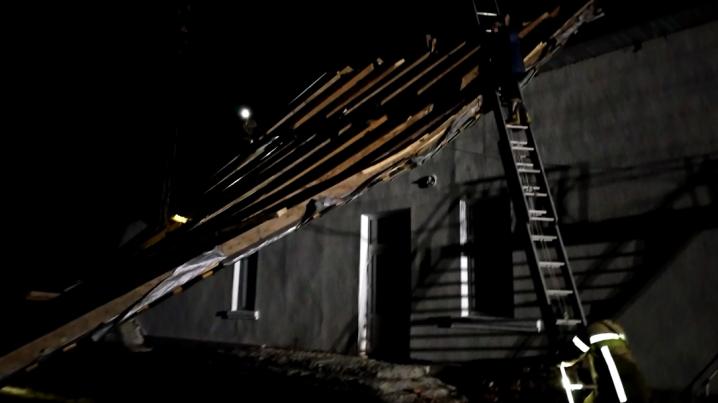 У Чернівцях на житловий будинок повалилось дерево