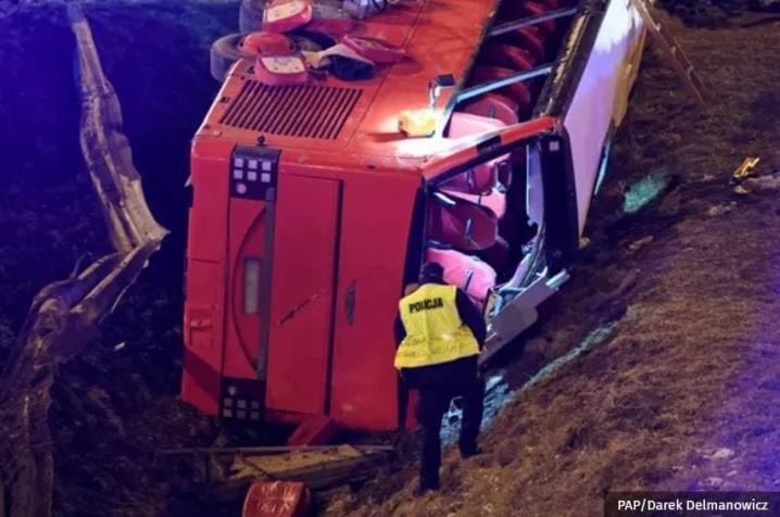 У Польщі розбився автобус з українцями - шестеро загинули (ФОТО)
