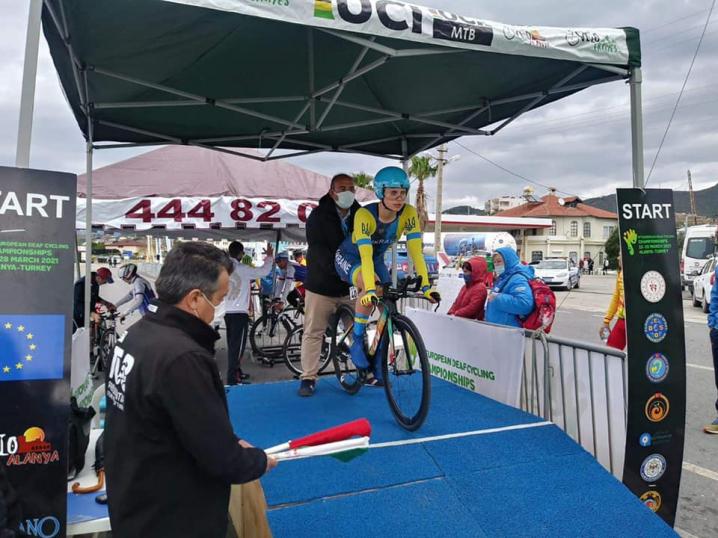 Буковинка виборола два золота та бронзу на Чемпіонаті Європи з велоспорту