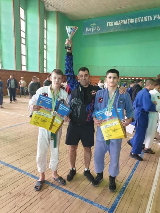 Буковинські спортсмени вибороли золото на Чемпіонаті України з бойового хортингу