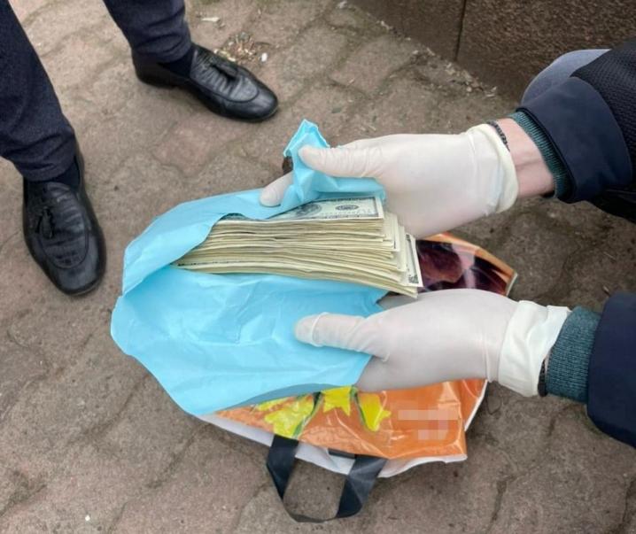 Керівника перинатального центру Манчуленка затримали на хабарі 12 тис доларів голові облради Олексію Бойку