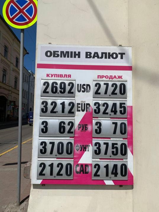Євро впав до мінімуму з серпня 2020 року: який курс валют у Чернівцях