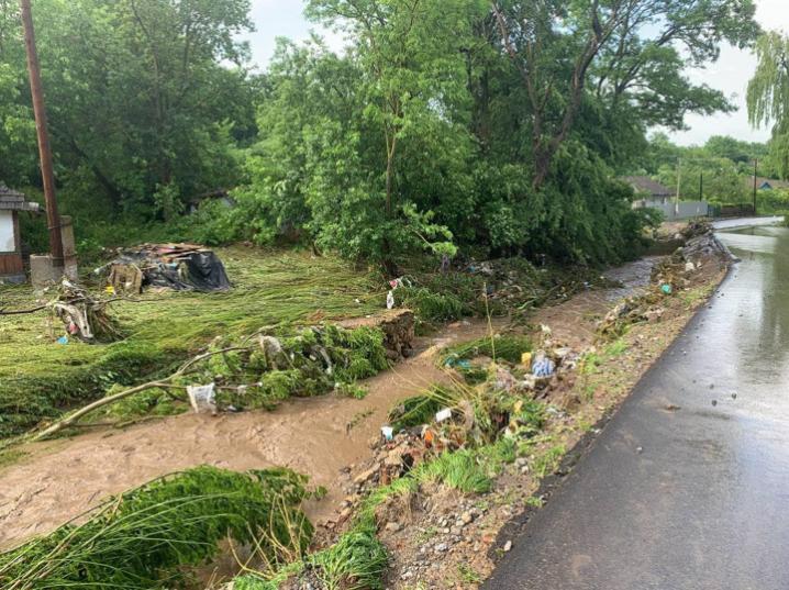 На Буковині після зливних дощів підтопило 80 житлових будинків