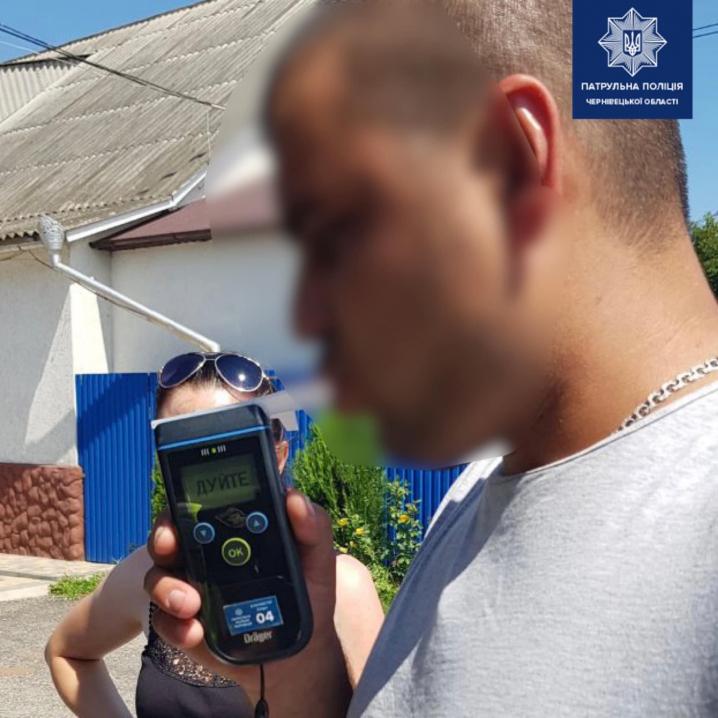 У Чернівцях патрульні до 16:00 виявили трьох водіїв, які були за кермом напідпитку