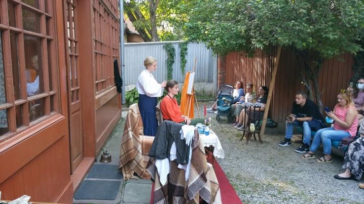У Чернівцях відбувся перформанс за мотивами новели Ольги Кобилянської «Valse melancolique»