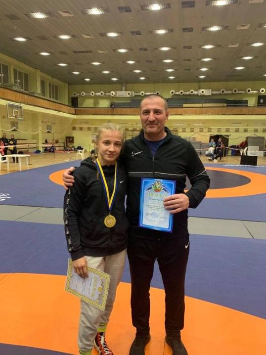 Буковинська борчиня перемогла на чемпіонаті України серед жінок
