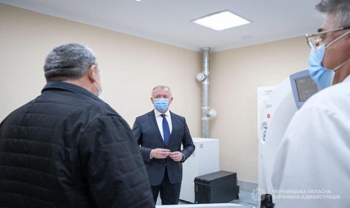 У Вижницькій районній лікарні працює оновлене приймальне відділення
